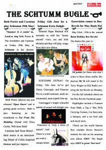 The Schtumm Bugle May 2015