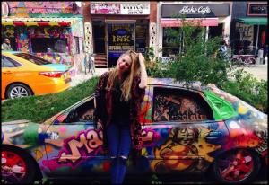 joni Fuller car pic